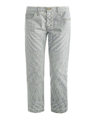 Skyrograph feather jeans