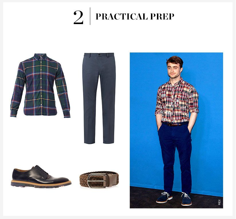 How To Wear The Plaid Shirt Trend Matchesfashion Com