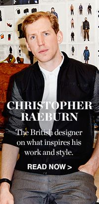 READ AND SHOP CHRISTOPHER RAEBURN >