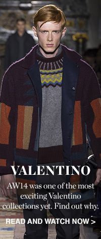 THE DESIGNER REPORT: VALENTINO