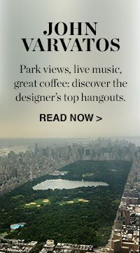 MY CITY: JOHN VARVATOS