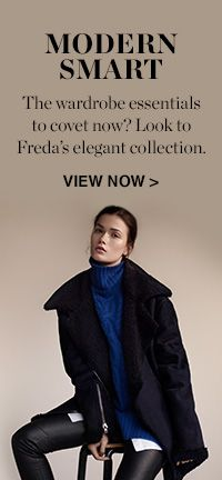 VIEW THE FREDA SHOOT >