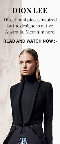 SPOTLIGHT ON: AW14 DION LEE