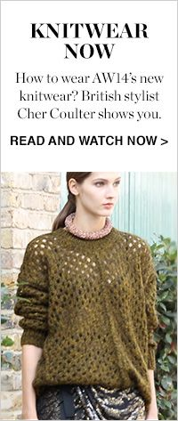 HOW TO WEAR: AW14 KNITWEAR