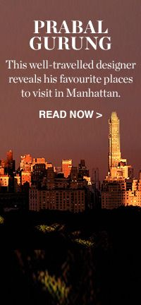 MY CITY: PRABAL GURUNG