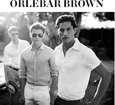 VACATION SHOP: ORLEBAR BROWN