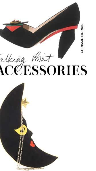 TALKING POINT ACCESSORIES - Let your character shine through: add polish and personality to your London look with playful, sometimes quirky, accessories - SHOP THE EDIT