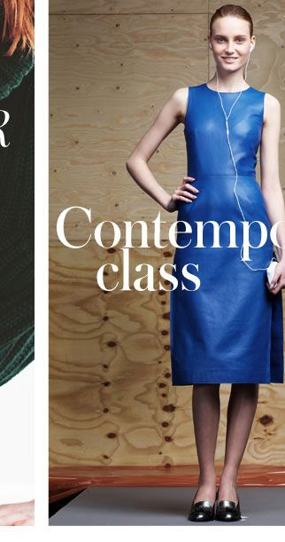 CONTEMPORARY CLASS -Fall in love with the minimal elegance of London's must-know new designer labels - SHOP THE EDIT