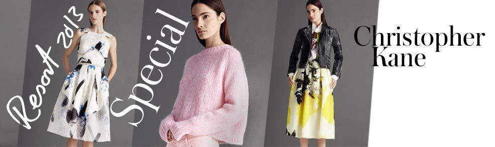 Tough-girl biker jackets, soft pastel knits and gorgeous overblown art-print skirts: make Christopher Kane top of your new-season wish list