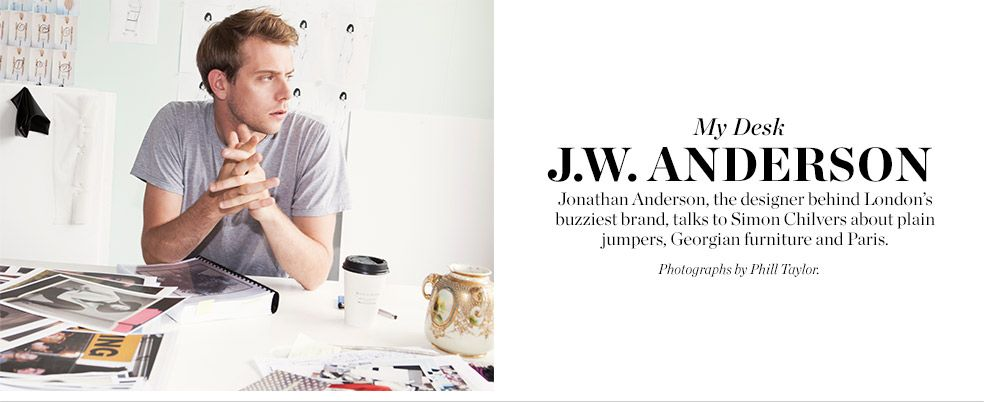 My Desk J W Anderson Matchesfashion Com