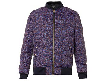PS BY PAUL SMITH Stippled Colour-print bomber jacket