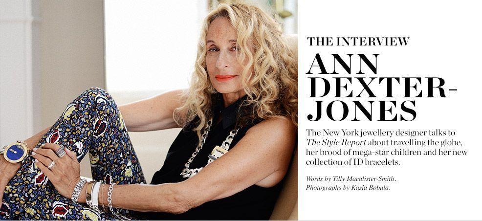 The Interview Ann Dexter Jones Matchesfashion Com