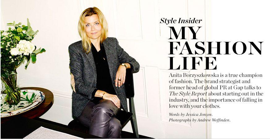 My Fashion Life Anita Borzyszkowska Matchesfashion Com