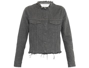 MARQUES'ALMEIDA Frayed-edge denim jacket