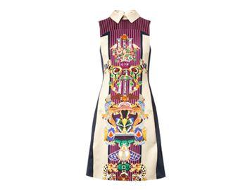 MARY KATRANTZOU Gattaca Totem Bone-print dress