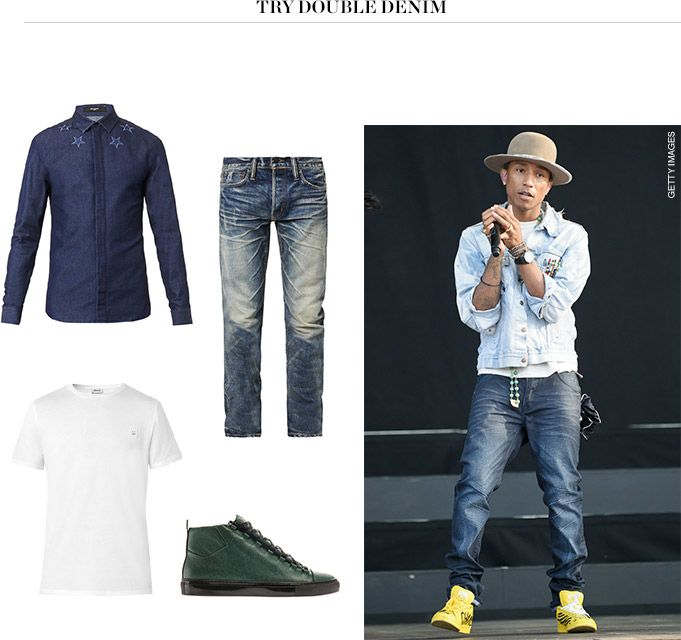 How to wear the new denim rules matchesfashion com
