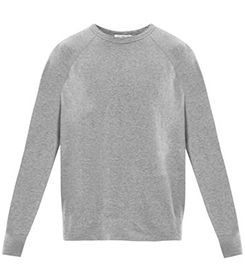 JAMES PERSE Heathered cotton sweat top