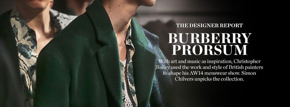 THE DESIGNER REPORT: BURBERRY PRORSUM