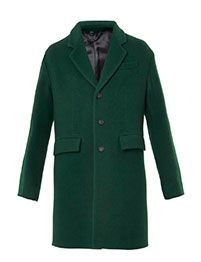 BURBERRY PRORSUM Cashmere and wool tailored coat