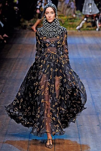 Dolce e gabbana long dress chiffon