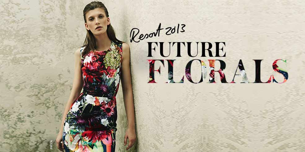 Resort 2013 is set to be blooming beautiful with bold, bright floral prints from Preen, Erdem and more... Not for wallflowers