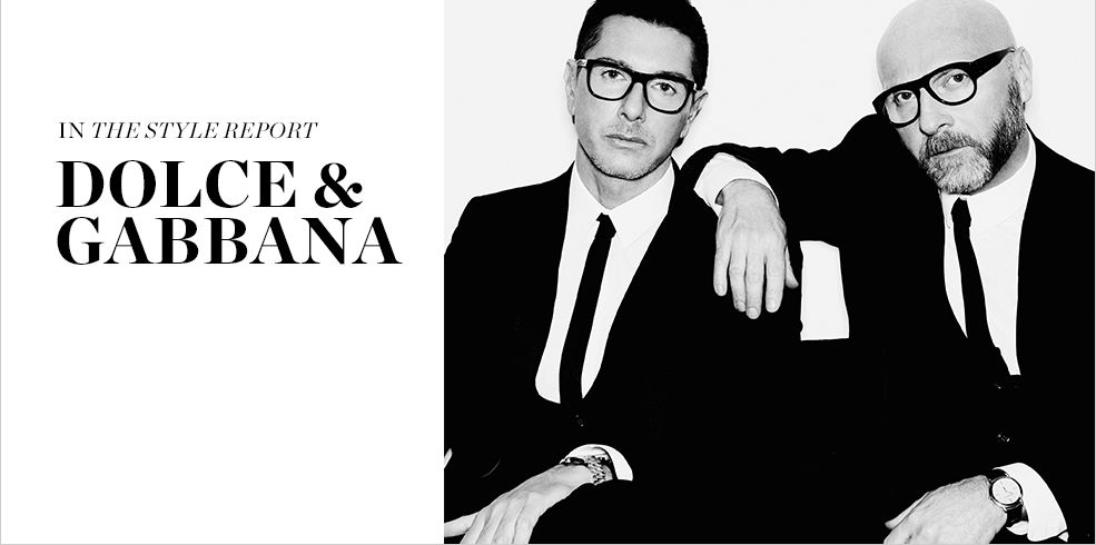 READ AND SHOP DOLCE & GABBANA >