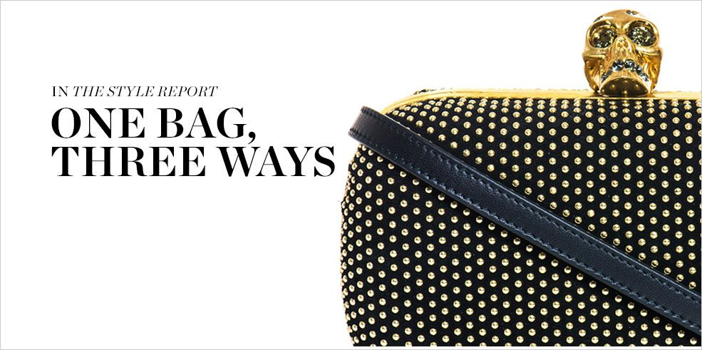 READ AND SHOP ONE BAG, THREE WAYS >