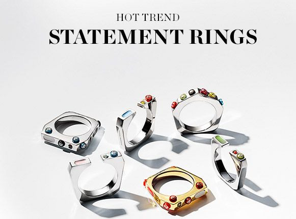 SHOP STATEMENT RINGS >