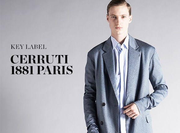SHOP CERRUTI 1881 PARIS >