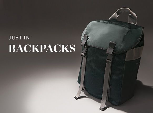 JUST IN: BACKPACKS