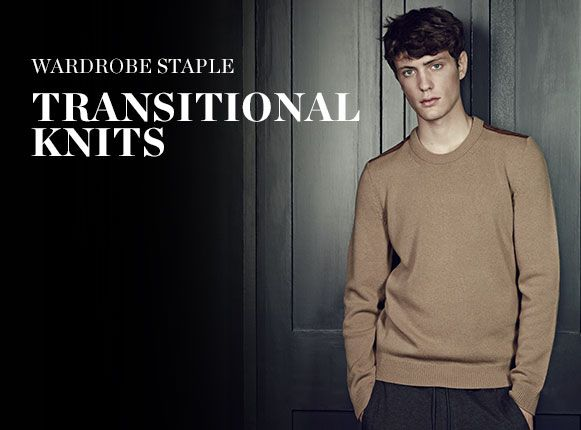 WARDROBE STAPLE: TRANSITIONAL KNITS