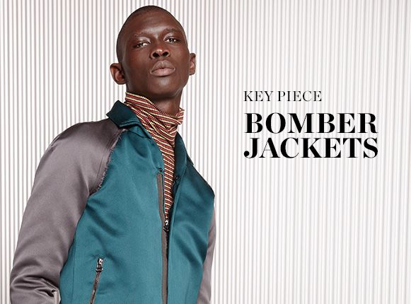 KEY PIECE: BOMBER JACKETS