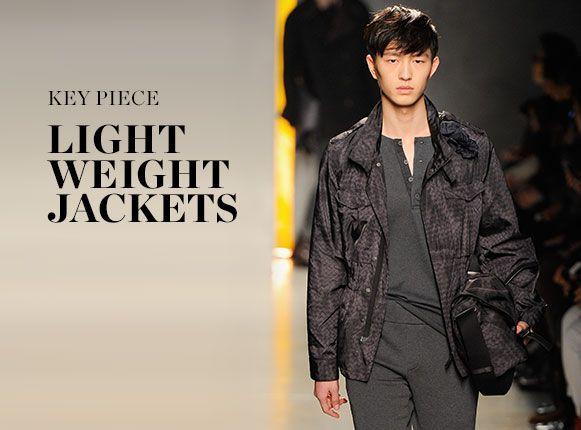 KEY PIECE: LIGHTWEIGHT JACKETS
