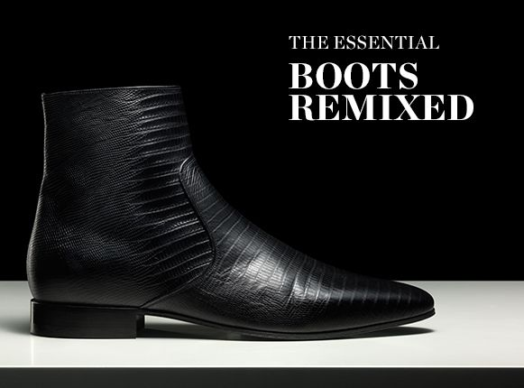 THE ESSENTIALS: BOOTS REMIXED