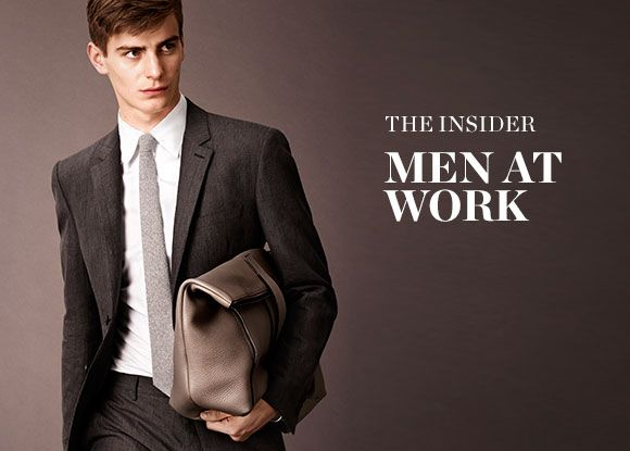 THE INSIDER: MEN AT WORK