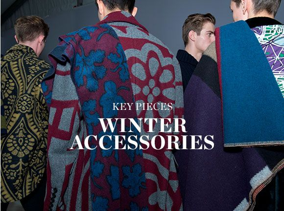 KEY PIECES: WINTER ACCESSORIES