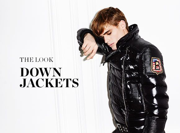 THE LOOK: DOWN JACKETS