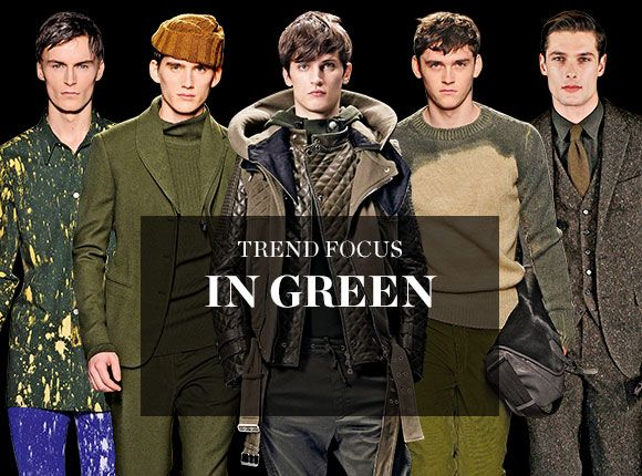 TREND FOCUS: IN GREEN