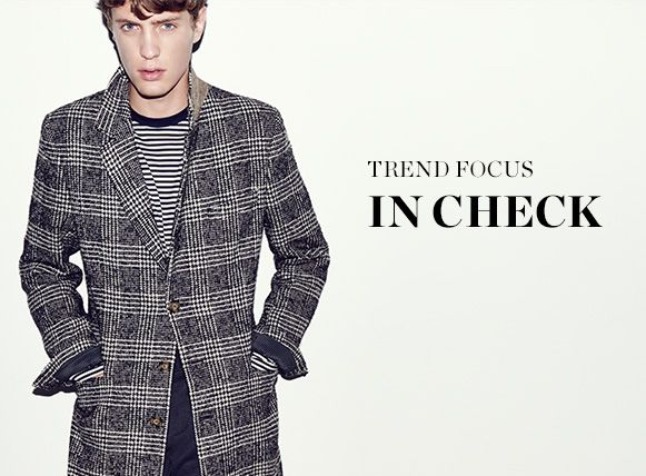 THE TREND: IN CHECK