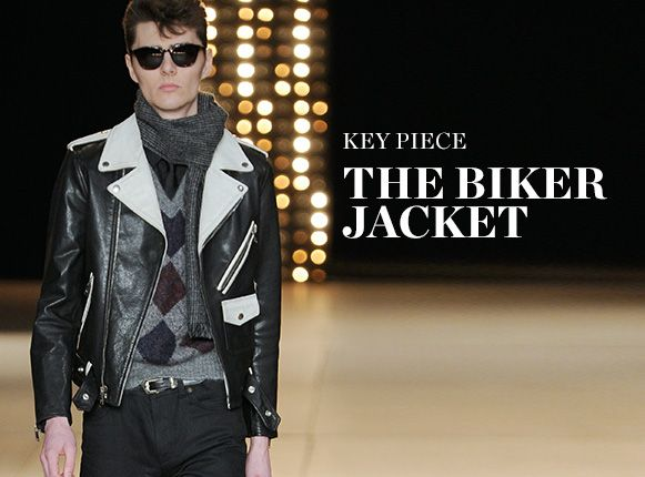 KEY PIECE: THE BIKER JACKET