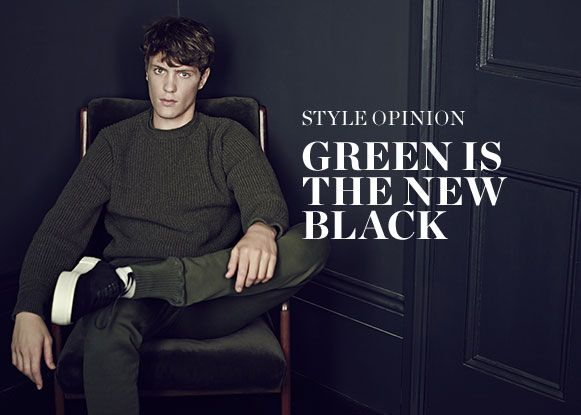 STYLE OPINION: GREEN IS THE NEW BLACK