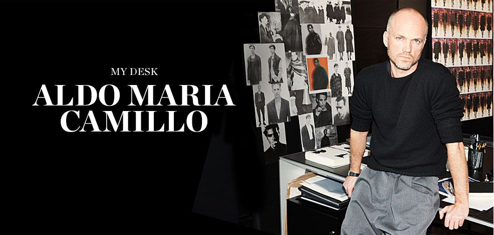 MY DESK: ALDO MARIA CAMILLO