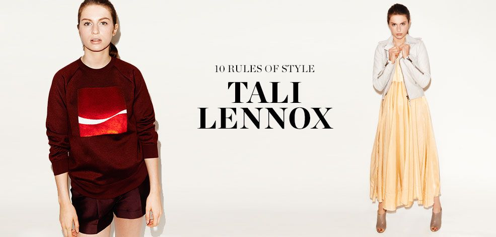 READ AND SHOP TALI LENNOX >