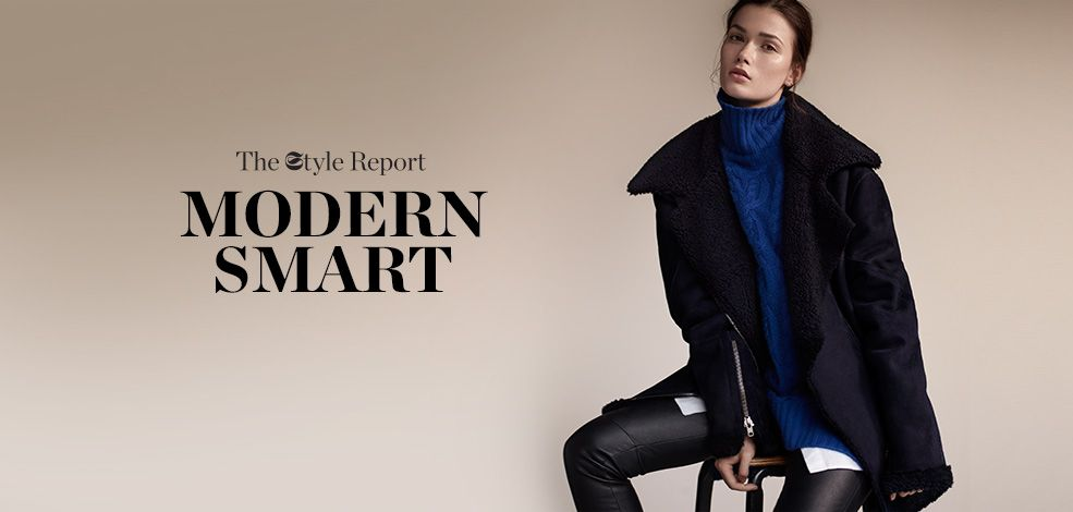 THE STYLE REPORT: MODERN SMART THE SHOOT
