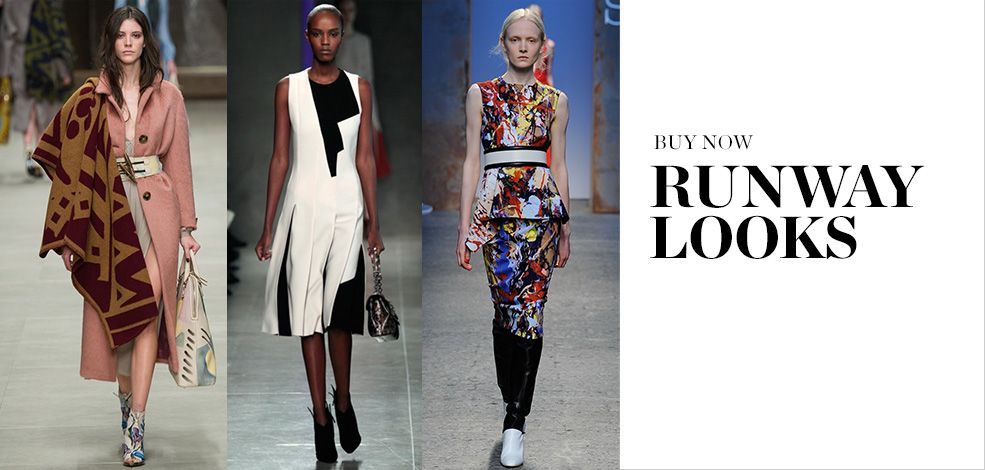 BUY NOW: RUNWAY LOOKS