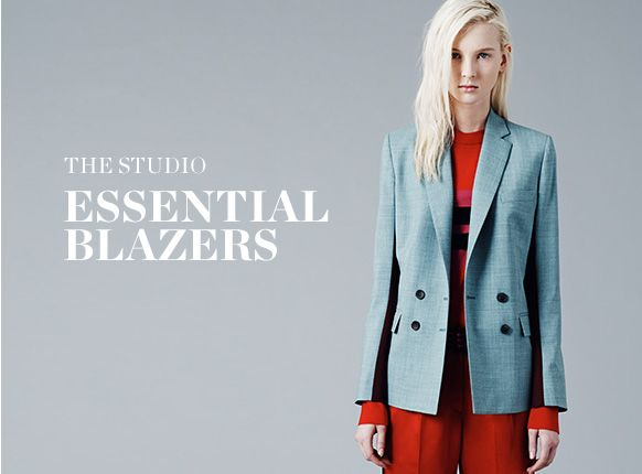 THE STUDIO: ESSENTIAL BLAZERS