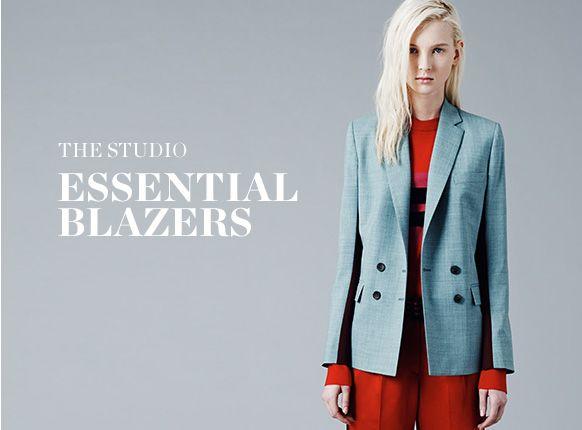 THE STUDIO: ESSENTIAL BLAZERS