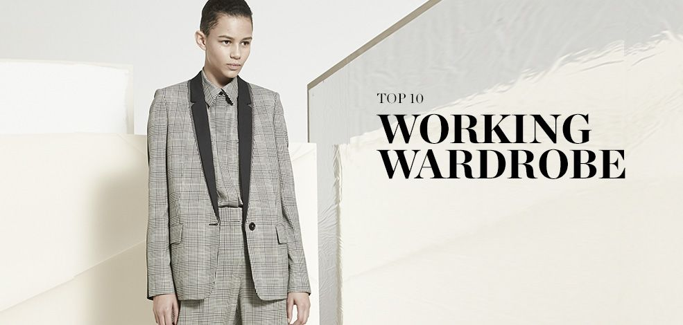 TOP10 : WORKING WARDROBE