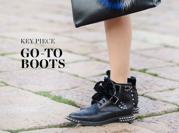 KEY PIECE: GO-TO BOOTS
