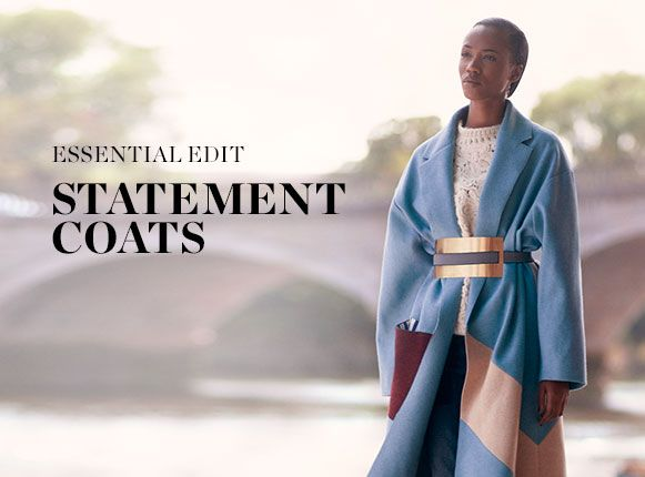 ESSENTIAL EDIT: STATEMENT COATS